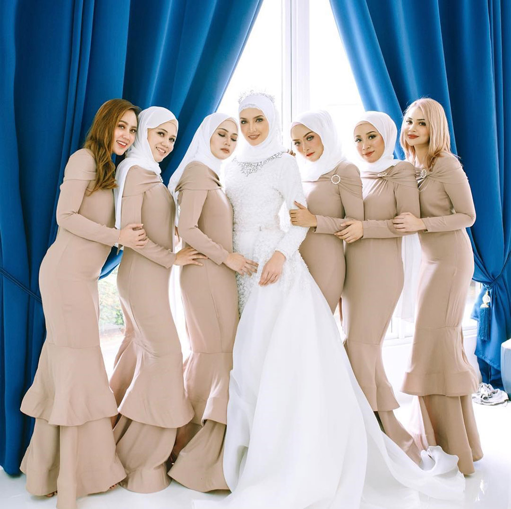Baju Bridesmaid Light Brown