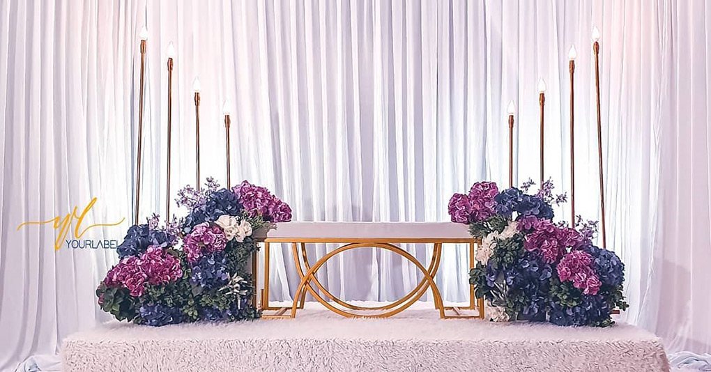 Mini Pelamin With Props - yourlabelco