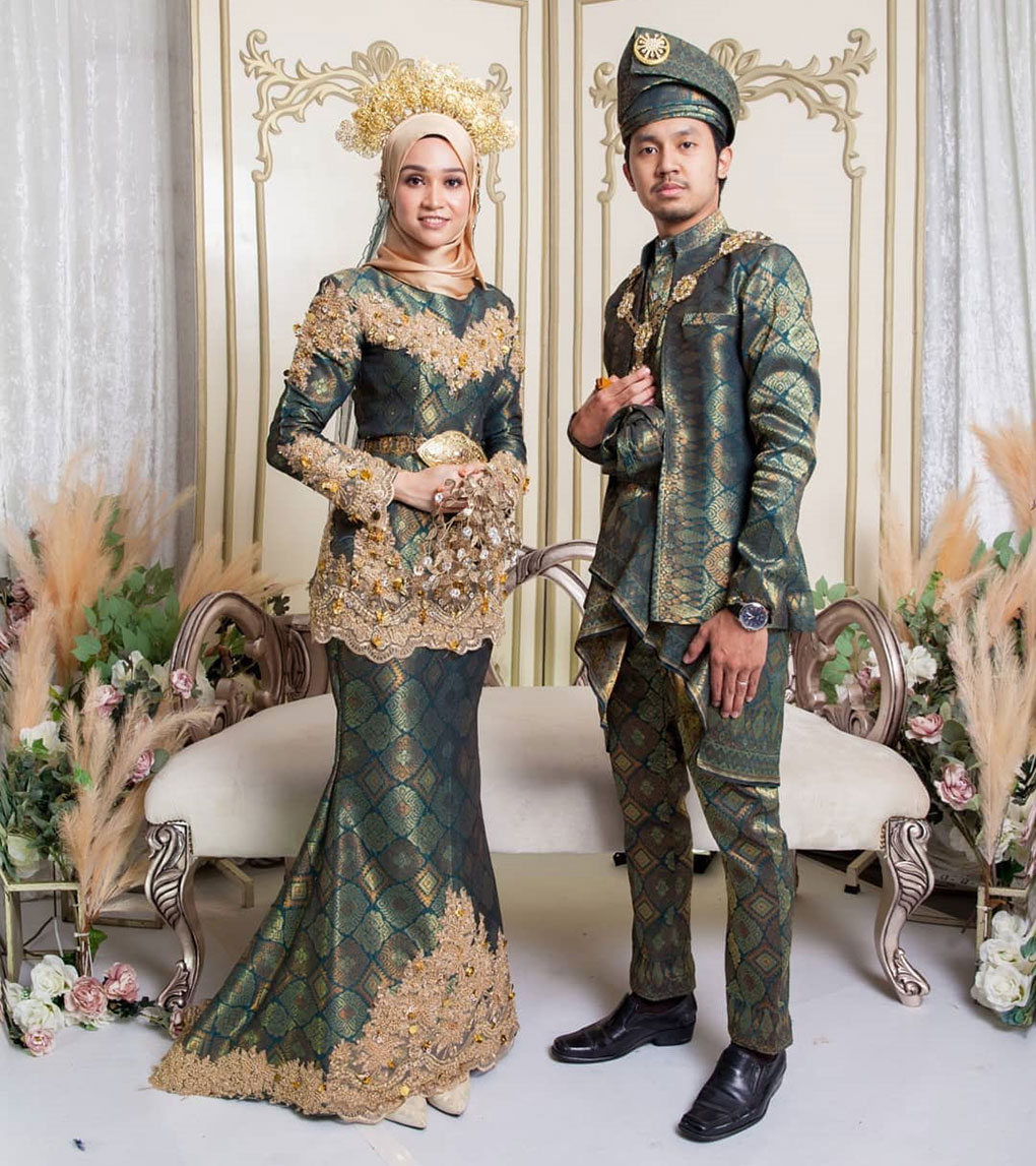 Songket Hijau Wedding Galore