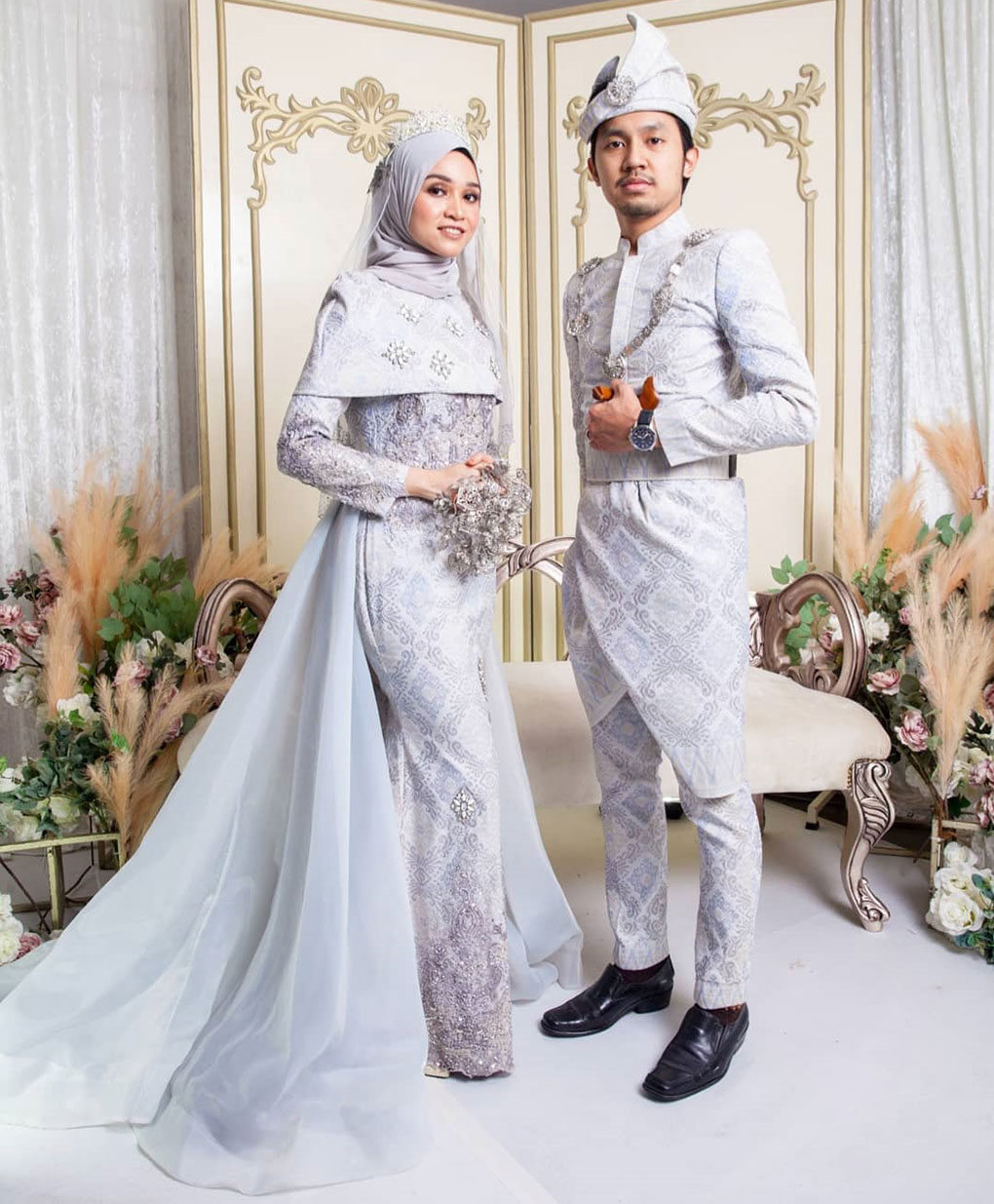Wedding Galore Baju Songket Putih